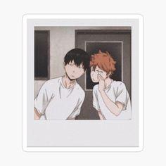 Tumblr Stickers, Anime Stickers, Cute Stickers, Otaku Anime, Anime Guys, Polaroid Decoration, Anime Crafts, Aesthetic Stickers, Kageyama