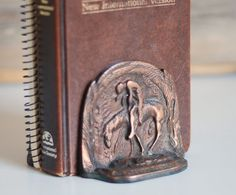 Vintage Bookends Metal Native American Set by thevintagetreehouse, $34.50