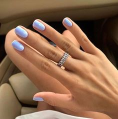 Cute Nails, Pretty Nails, May Nails, Nagellack Trends, Manicure E Pedicure, Manicure Ideas, Nail Ideas, Gel Manicures, Chrome Nails