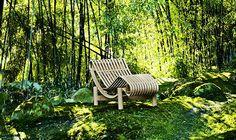 Design Garden Outdoor Furniture - Design Classic: Cassina Le Corbusier LC1 Outdoor Armchair, Winner of the Wallpaper Design Award 2012! LOVE IT!