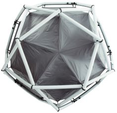 frackenpohl poulheim: the cave dome tent for heimplanet  Structure gonflable