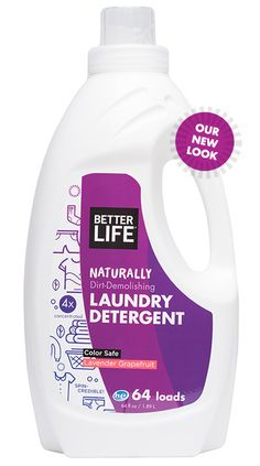 Spin Credible Laundry Detergent