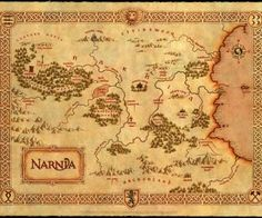 print out maps of fictional places like narnia, neverland, etc?