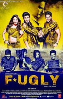 All the new stars coming in the upcoming film 'Fugly' directed by Kabir Sadanand. The film starring Mohit Marwah, Kiara Advani, Vijender Singh and along with actor Jimmy Sheirgill. The first look poster of the film 'Fugly' has been finally revealed and. Hindi Bollywood Movies, Watch Bollywood Movies Online, Hindi Movies Online, Movies To Watch Online, Movies 2014, Latest Movies, Hd Movies, Movies Free, Indian Movie Songs