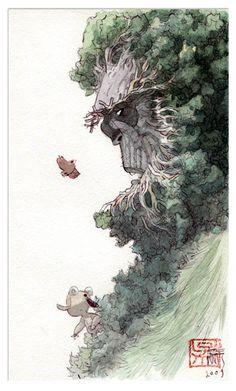 MAN ARENAS 25 Illustration originale de Yaxin le faune Gabriel