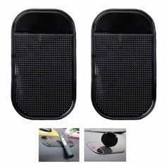 Universal Multifunctional Anti Slip Car Mat Dashboard GPS Phone Holder Non-slip Mat Car Dash Sticky Pads
