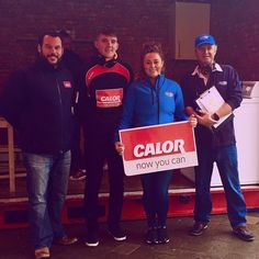 The Calor Roadshow is live in Dungarvan until 4pm today with special guests like Under 21 Hurling Captain Patrick Curran #CalorGas #switch #wlrfm #hurlers