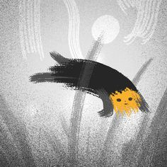 looopism Fairy Tales For Kids, Gifs, Stop Motion, Motion Design, Dark Art, Digital Illustration, Animated Gif, Illustrators, Cool Art