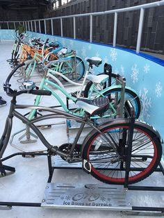 ljcfyi: Ice Bikes of Buffalo