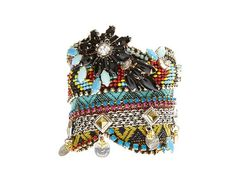 EXAMPLE / Made to order One of a Kind tribal statement cuff - luxurious ethnic jewelry