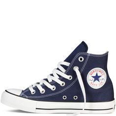 Converse - CT All Star Classic Hi Canvas Sneaker - Navy
