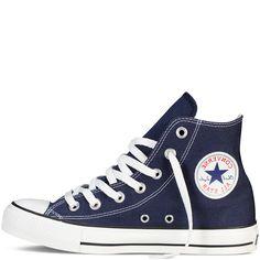 Converse - CT All Star Classic Hi Canvas Sneaker - Navy