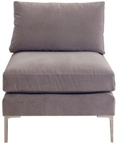cobble hill oxford armless chair - custom $1060