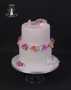 syntymäpäiväkakku tytölle. Birthday cake for girl