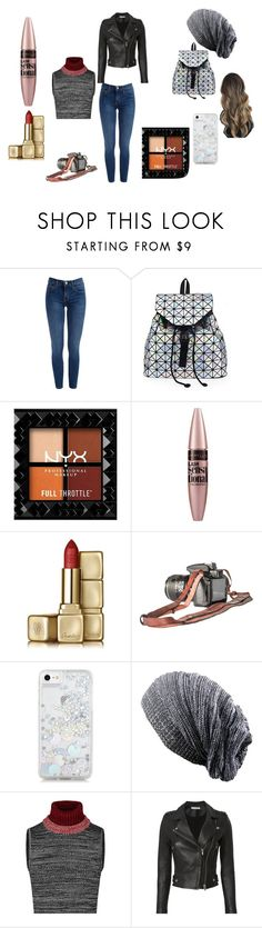 """Picture Taking"" by one6-direction on Polyvore featuring Maybelline, Guerlain, Skinnydip and IRO"