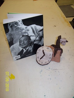 What a great Dali lesson this was when Dali's work was at the High Museum here! Created in clay at Out of the box art studio/ teacher: Whitney Calhoun!