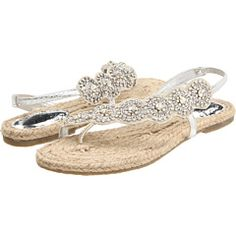 Kayla watson, idk if you're doing sandals for your beach wedding. But these made me think of you.<3