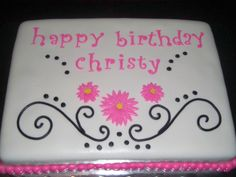 Birthday sheet Cake Ideas | sheet cake, red velvet cake with cream cheese icing, covered in ...