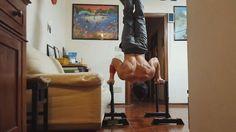 15 Handstand push-ups by Erik Neri. Old but gold