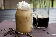 I recently came across several cold brew coffees at various coffee shops. Curiosity got me exploring the mystery of cold brew, and surprisingly, the process turned out quite simple, just takes time. Coffee Creamer, Iced Coffee, Coffee Drinks, Coffee Shops, Iced Latte, Coffee Barista, Coffee Menu, Coffee Poster, Coffee Scrub