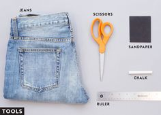 How to Turn Your Jeans Into the Perfect Pair of Denim Shorts