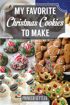 My Favorite Christmas Cookies To Make From Scratch