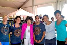 95-year-old yoga master Tao Porchon-Lynch at the Nantucket Yoga Festival in July 2014.