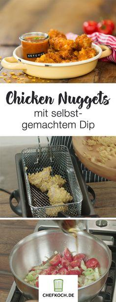 Herrlich knusprige Chicken Nuggets ganz einfach selber mache – Fabio zeigt euch im Video, wie's geht!