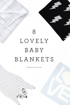 Your baby will look so sweet in one of these blankets
