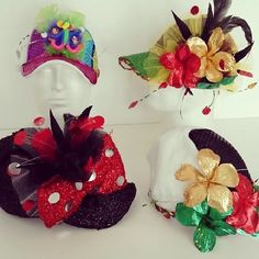 Gorras de fantasías para gozar el #carnavaldebarranquilla2014