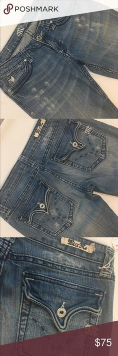 Miss me JP4410 Clendora 27/33 Like new! Miss Me Jeans