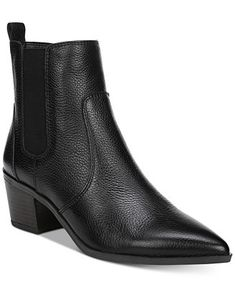 15e520731bf Franco Sarto Sienne Pointed-Toe Block-Heel Booties - Boots - Shoes - Macy s