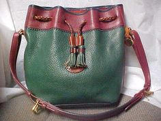 Large Dooney and Bourke bucket bag purse in Green and by designer2, $70.00