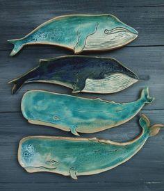 Whale Art Poster - Bathroom Decor - Nursery Room Decor - Whale Art Print - Christmas Gift - Sea Animal Print - Beach Decor - - My list of the most beautiful animals Nursery Room Decor, Nursery Art, Clay Projects, Clay Crafts, Whale Decor, Cerámica Ideas, Keramik Design, Whale Art, Wale