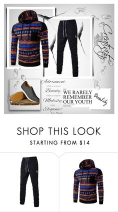 """""""Dresslily # 8"""" by zbanapolyvore ❤ liked on Polyvore featuring Chanel, men's fashion and menswear"""