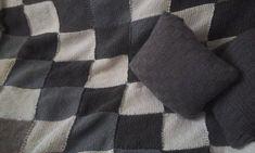 pletená deka zo zvyškov Plaid Scarf, Fashion, Scrappy Quilts, Moda, Fashion Styles, Fashion Illustrations