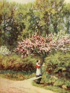 Happy England as painted by Helen Allingham, R.W.S by emmeffe6, via Flickr