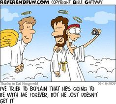 Selfie in heaven buen humor, funny quotes, cartoon quotes, humor quotes, funny Funny Christian Quotes, Christian Jokes, Christian Life, Christian Comics, Christian Cartoons, Funny Shit, Funny Stuff, That's Hilarious, Funny Things
