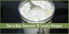 """I'd heard of several people making their own liquid laundry detergent, but there was mixing and boiling involved and I thought """"Ugh. No Thank you."""" But ever since I'd read how much people were saving making their own detergent, every time I picked up the..."""