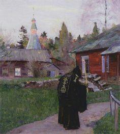 "Mikhail Nesterov - ""Evening Bells"""