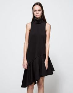 The Unexpected Place To Score Under-$100 Finds #refinery29  http://www.refinery29.com/need-supply-affordable-clothing#slide-8  Go on and own the asymmetrical hem.C/MEO Collective Swept Away Dress, $170 $84.99, available at Need Supply....