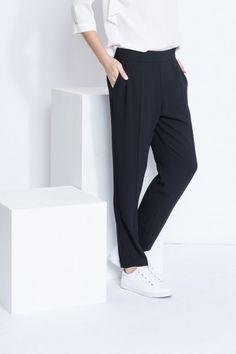 Pantalon Crêpe Janet, Pantalon Femme - SINEQUANONE