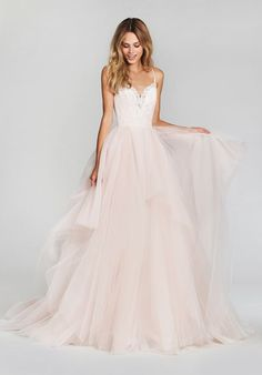 That would be a beautiful opera/ballet gown. Blush by Hayley Paige Lilou-1708 Wedding Dress - The Knot