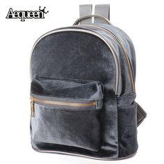 26.99$  Watch here - http://vistw.justgood.pw/vig/item.php?t=d7lvj8558562 - Backpacks Velvet Casual Retro Zipper 4 Colors School 26.99$