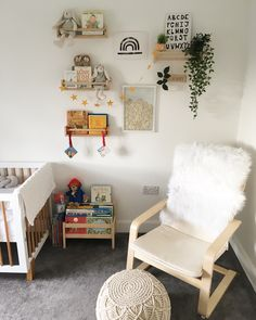 Ikea Book Rack, Ikea Spice Racks As Book Shelves, Spice Rack Bookshelves, Bookshelves Kids, Ikea Spice Rack Hack, Bookshelf Ideas, Reading Corner Kids, Baby Corner, Reading Nook