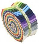 Kona Cotton, New Colors Pre-Cut Fabric Fat Quarter Shop, Fabric Strips, Kona Cotton, Kit, Modern Fabric, Rainbow Colors, Quilt Patterns, Free, Quilts
