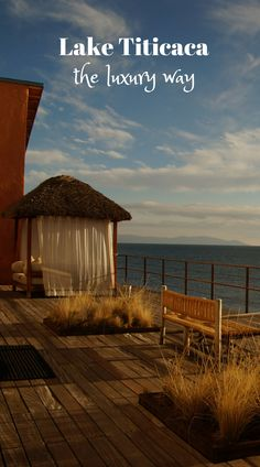 Peru Travel Inspiration - If you wanna explore Lake Titicaca, in Peru the luxury way, than there really is no way around staying at the Titilaka Lodge. This luxury hotel will give you the opportunity to explore the area in style. Lake Titicaca Peru, Lac Titicaca, World Discovery, Peru Travel, Luxury Travel, Luxury Hotels, South America Travel, Luxury Holidays, Vacation Destinations