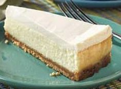 EASY BAKED CHEESECAKE Recipe   Just A Pinch Recipes
