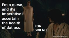 "Haha, hilarious ""Meme-ified"" recap of ep.7. I'm totally stealing that line once I finish my nursing degree..."