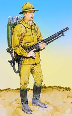 Soviet motor rifle infantry in Afghanistan